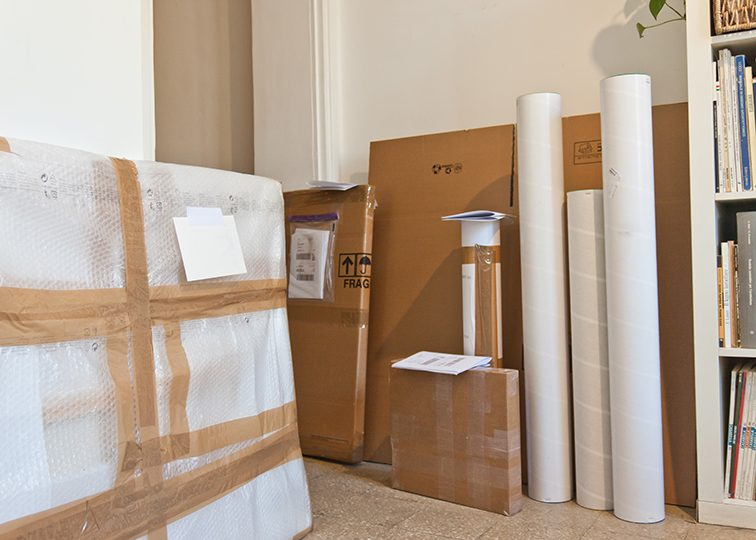 Large art prints Packaging Madness