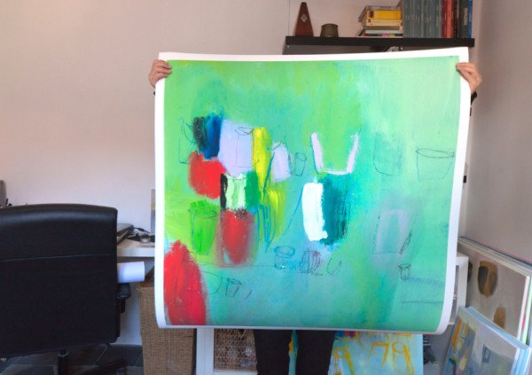 Large Abstract Art - Giclee print