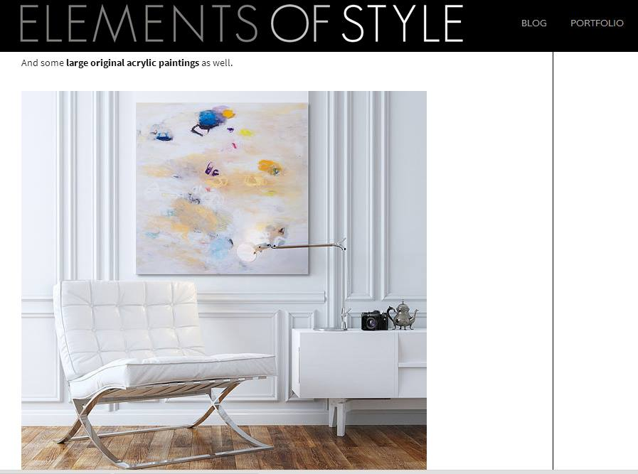 elements of style blog - Duealberi