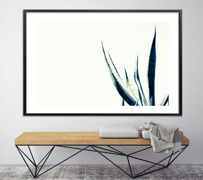 Minimalist poster Black and white print, 40X60, modern tree print, nature prints