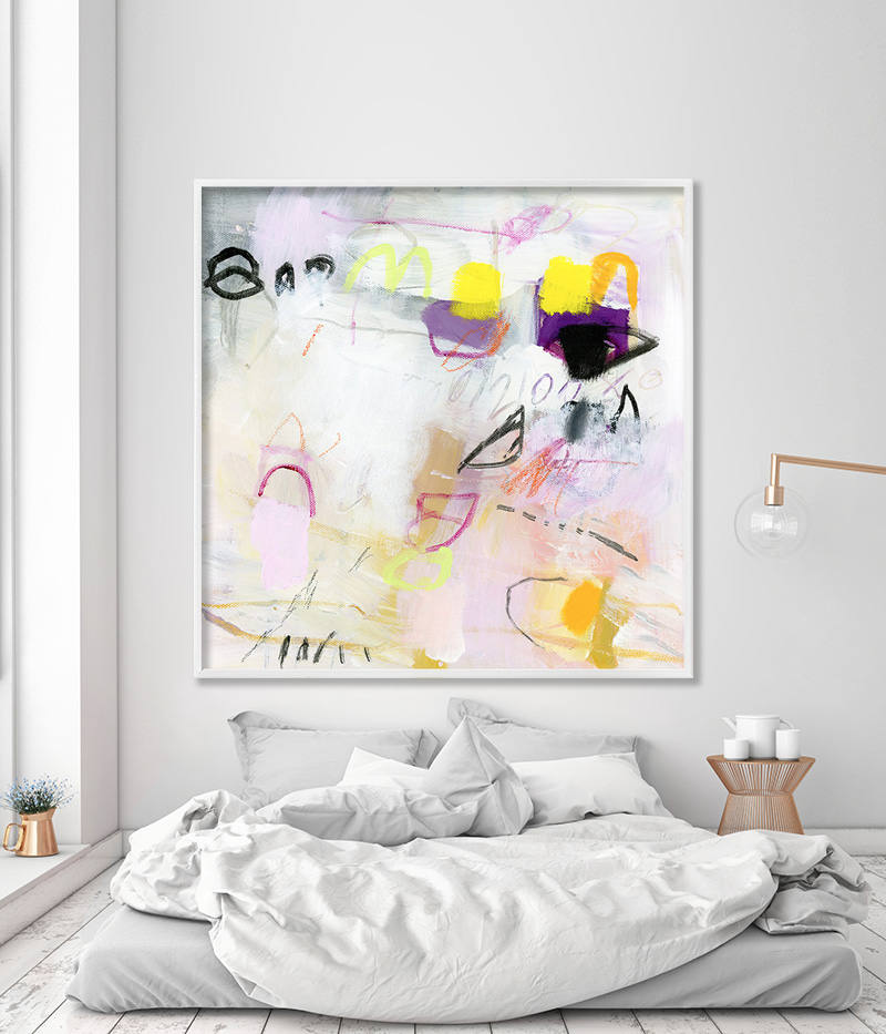 abstract painting print pastel pink painting extra large. Black Bedroom Furniture Sets. Home Design Ideas