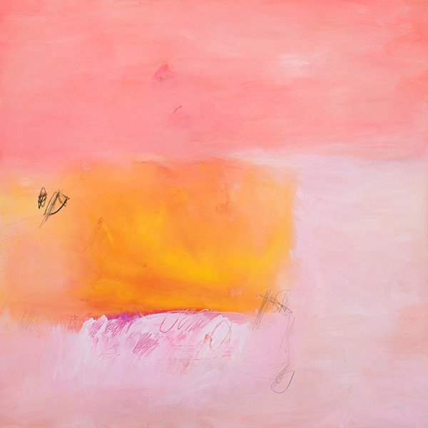 Modern Print Of Abstract Painting Coral Pink Yellow Canvas Large Wall Art Nursery Decor Bedroom Art By Duealberi Italy Abstract Paintings Large Wall Art Prints For Home And Office Decor