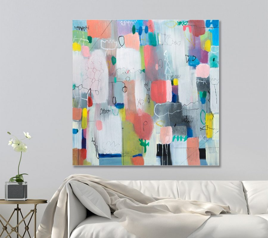 Abstract painting, Original Canvas painting, living room wall art, abstract art for sale
