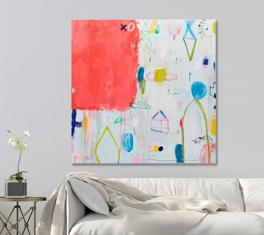 Large Abstract painting, Modern art, Contemporary art, large original paintings by duealberi