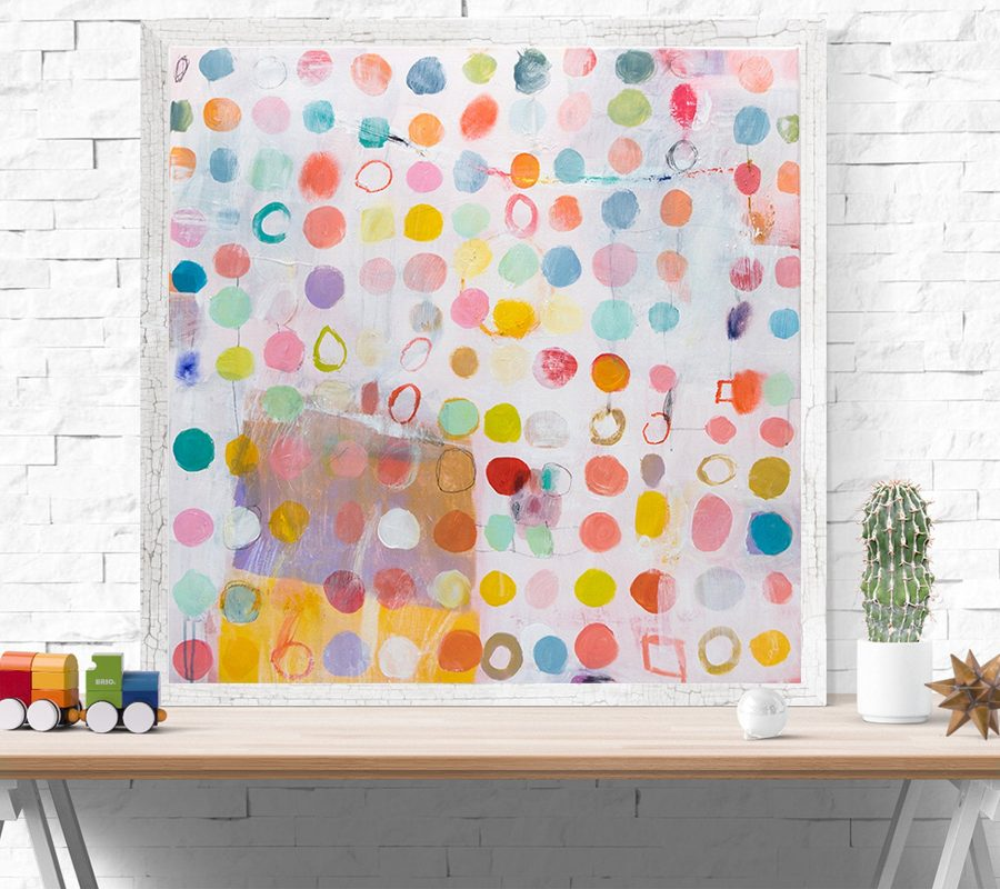 Large Abstract painting. Original Modern wall art, Pastel painting, buy original abstract painting