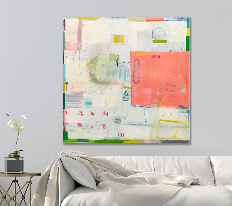 Cream painting. Original artwork, Abstract painting, Beach house decor, buy abstract art
